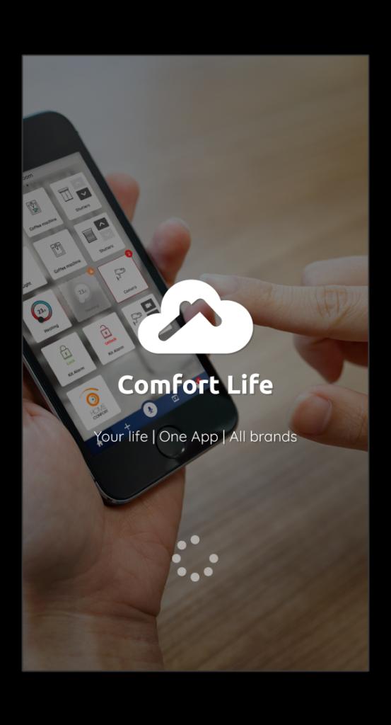 visuel de l'application Comfort Life